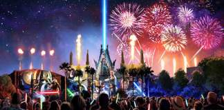 Star Wars Nighttime Spectacular