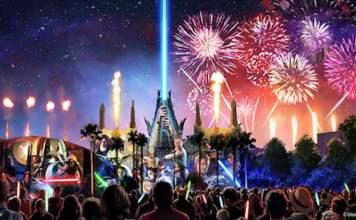 Star Wars Nighttime Spectacular