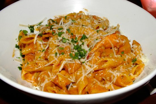 penne with vodka sauce recipe from Mama Melrose's