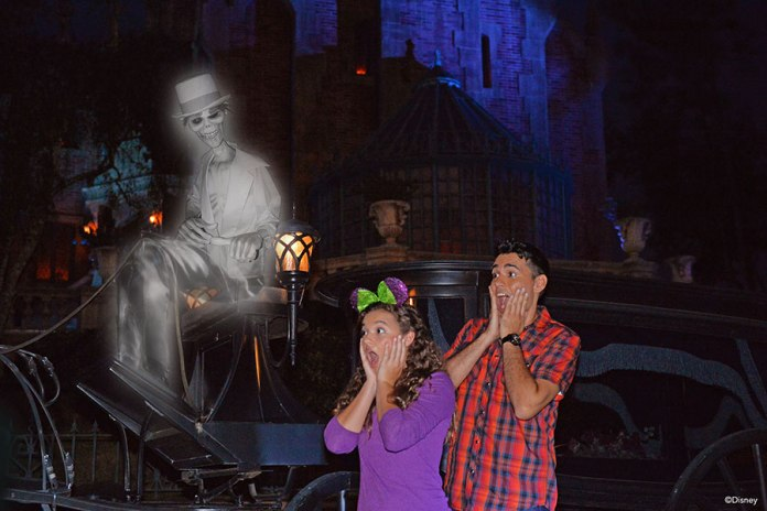 photopass halloween ghost haunted mansion