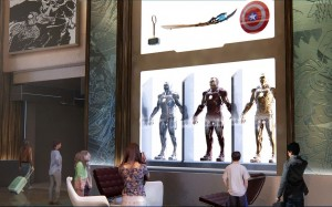 Marvel Hotel Iron man