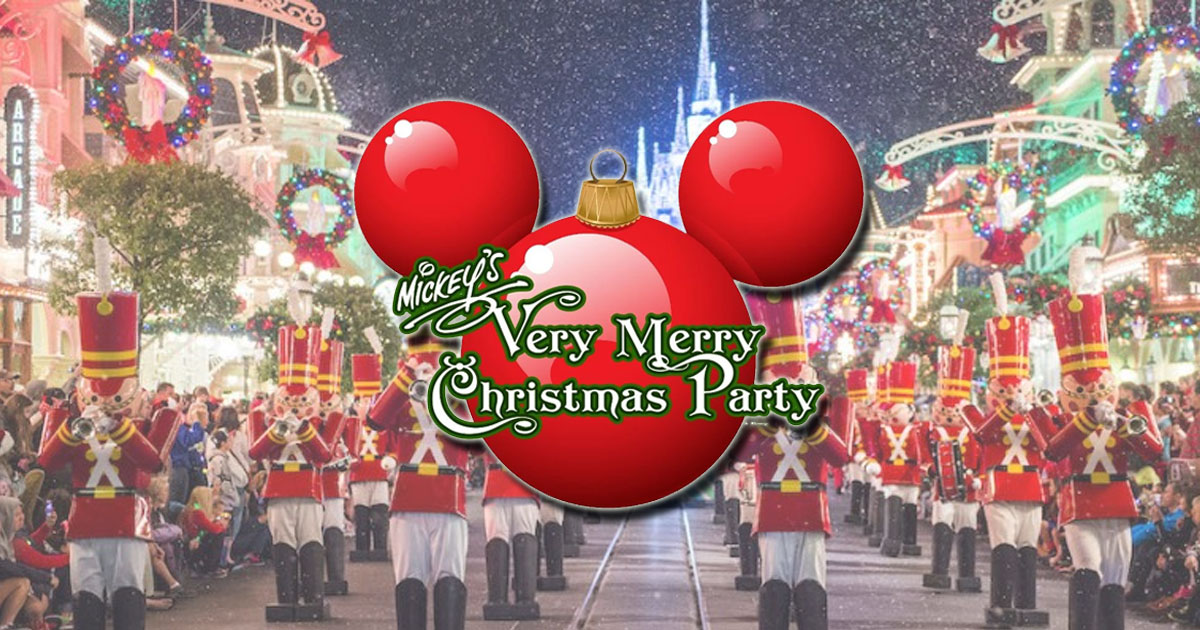 mickeys very merry christmas party is a special event held on select nights each winter at magic kingdom the party runs from 7 pm until midnight - Mickeys Christmas