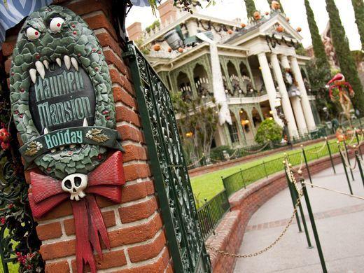 halloween haunted mansion disney