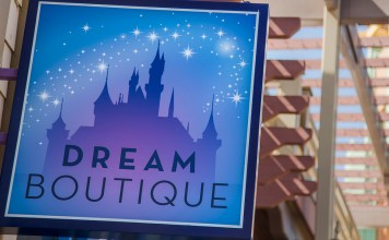 Dream Boutique in Downtown Disney District at Disneyland