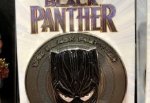 Black Panther Marvel Disney Pin