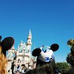 Disneyland Castle star wars