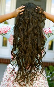 natural hairstyle long hair