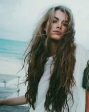 natural hairstyle long hair