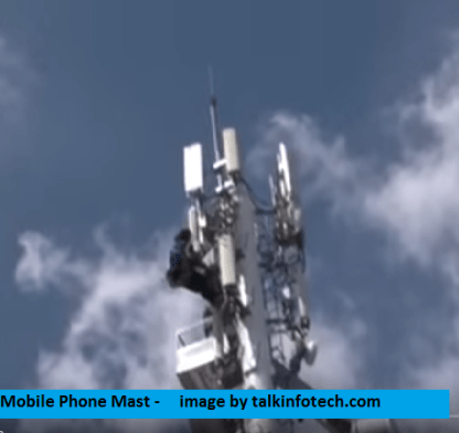 mobile phone mast latest