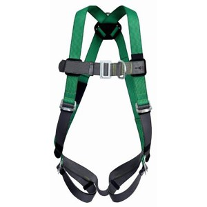 V-FORM™ Full Body Harness with back D-Ring, front D-Ring, 5 adjusters and Qwik-Fit buckles