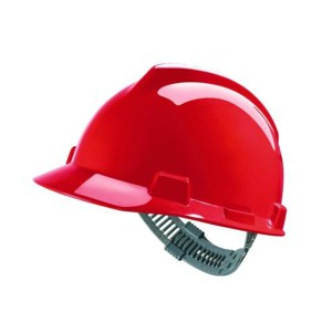 V-Gard® Hard Hat Cap Style with Push-key slide