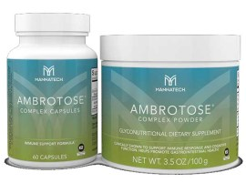 The glyconutritional product used was Ambrotose Complex by Mannatech