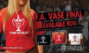 FA Vase Final T-Shirt