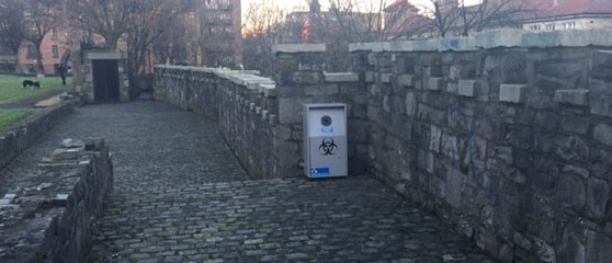 Dublin Implements Public Sharps Bins To Tackle Drug Related Litter TalkingDrugs