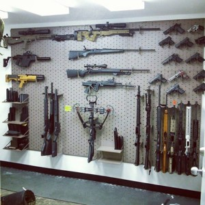 Allstar wall of guns