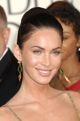 Megan fox looks great too.