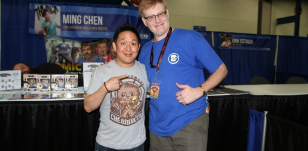 S4 Ep3 The Love of Podcasting With Ming Chin Of I Sell Comics & Comic Book Men and HC Universal Comicpalooza Wrap-Up