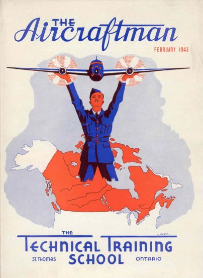 The Aircraftman publication for students of the air force at St. Thomas