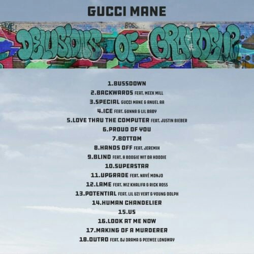 Download Full Album: Gucci Mane _ Delusions Of Grandeur