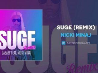 Nicki Minaj suge