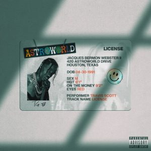 Travis Scott _ License