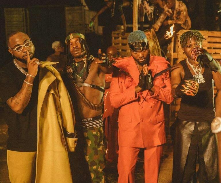 [Video] Davido Ft. Naira Marley, Zlatan, WurlD - Sweet In The Middle