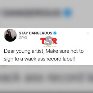 Rapper, YG advises upcoming artists to stay away from bad record label