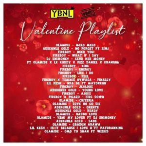 DJ Enimoney - Valentines Playlist
