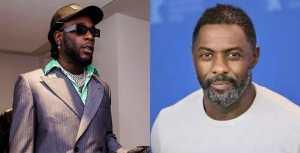 Coronavirus: Burna Boy consoles Hollywood actor, Idris Elba after he tested positive