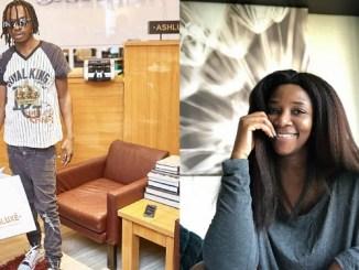 "Genevieve Nnaji vibes to Naira Marley's song ""Tesmumole"" (video)"