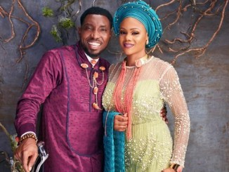 Timi Dakolo and his wife celebrate wedding anniversary with beautiful photo