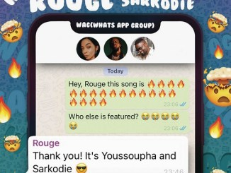 Rouge ft Sarkodie, Youssoupha - WAG (Whats App Group)