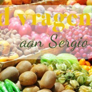 25 food vragen aan Sergio