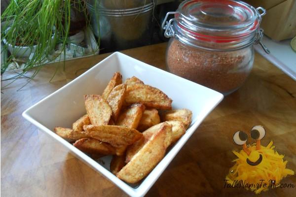 Cajun fries (Spicy potato wedges)