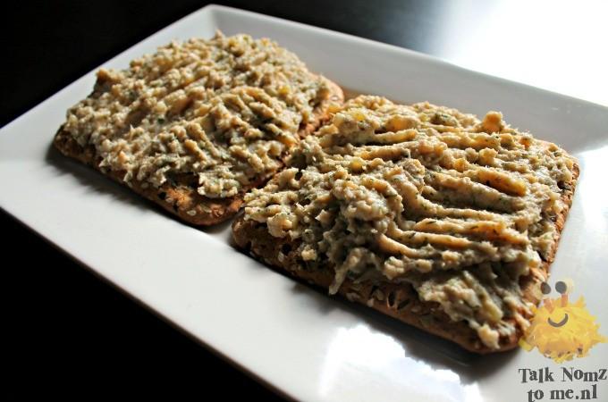 Zalmsalade voor op brood of toast