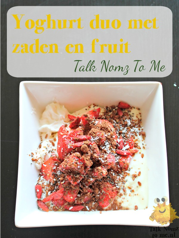 Yoghurt Duo | TalkNomzToMe.nl