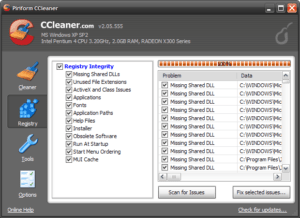 Ccleaner Main Interface