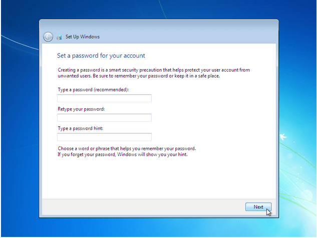 how to install windows 7 - 16