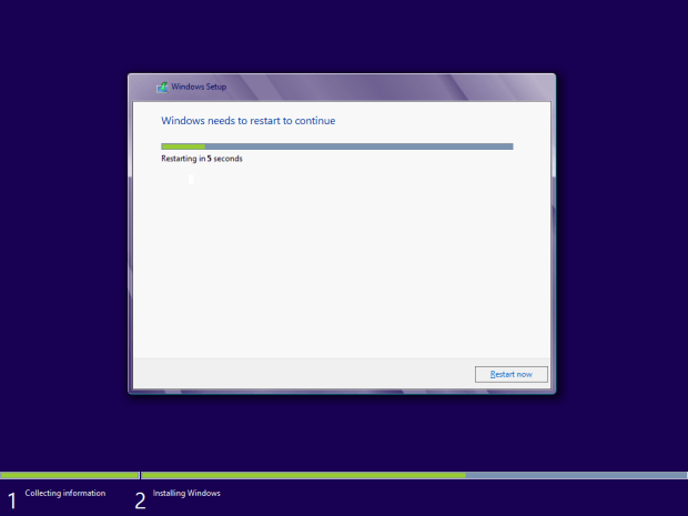 how to install windows 8 - 12