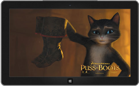 Puss in boots theme