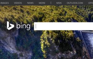 search engine - bing