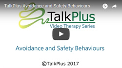 An explanation of how avoidance and safety behaviours can keep the cycle of anxiety going