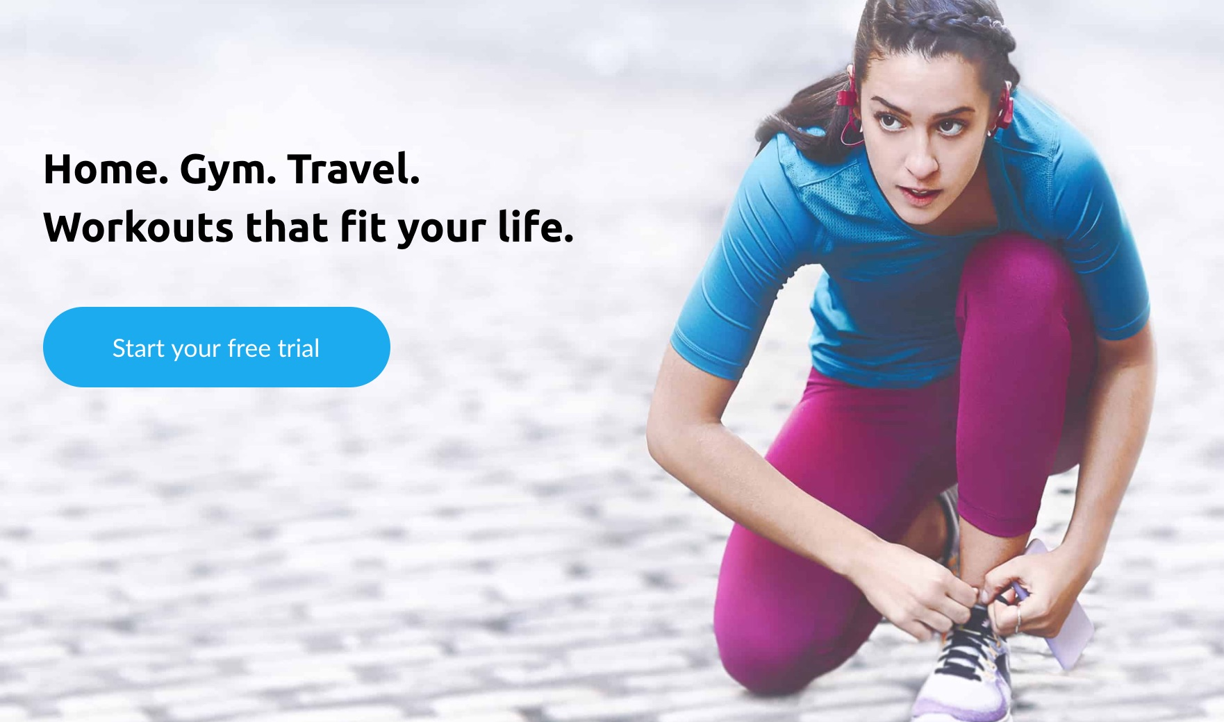 Active Athletic Lifestyle for Aaptiv