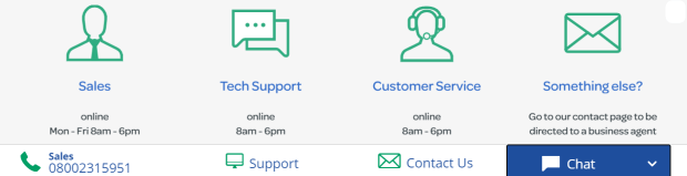 Steps to connect with Talktalk online chat