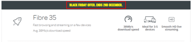 Talktalk Black Friday Deals for Existing and New Customers 2021