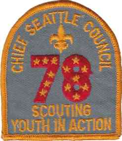 1978 CSC Scouting In Action Dark
