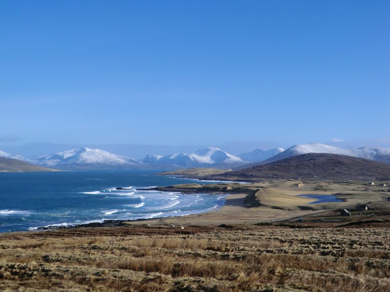 View to the North Harris Mountains from West Harris