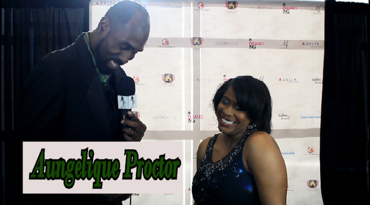 News reporter Aungelique Proctor is humbled as recipient of 7th Annual Legendary Awards