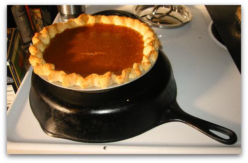 Upgraded traditional pumpkin pie