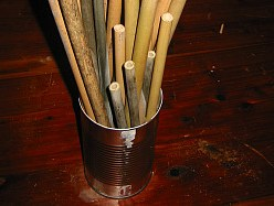 bamboo in a can